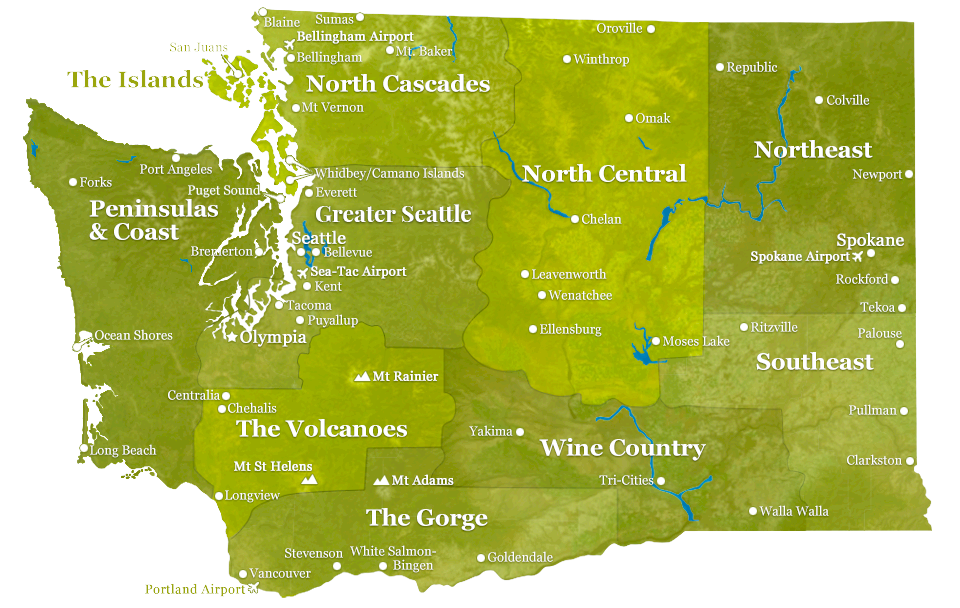 Mobile-Optimized Regions of Washington State